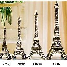 SUPEWOLD - Centro de Mesa de Torre Eiffel para decoración de Tartas, Fiestas, decoración