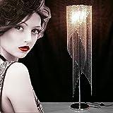 Stehleuchte Luxus europäischen modernen Schlafzimmer K9 Kristall Nacht kreative Stehlampe A+