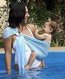 Känguru Baby® Breathable Babytrage mit Polyester und schnell trocken Gewebe-Material Indoor Outdoor Travel Cotton Komfort Sicherheit neugeborenes Kind-Kind-Baby-Riemen-Fördermaschine (Light Blue)