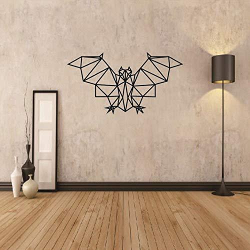 andaufkleber kinderzimmer Aufkleber Kinder Tieren Schlafzimmer Geometrische Bat Entfernbare Personalisierte Abziehbilder Für Wohnzimmer Billig ()