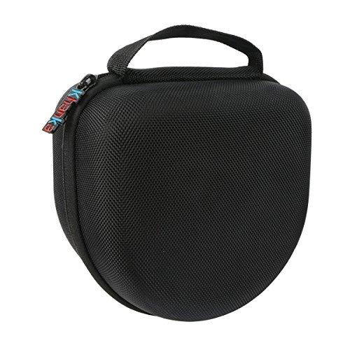 Khanka EVA Carrying Storage Travel Hard Case Bag for FSL Decimate Earmuffs 34dB NRR Shooting Protection Professional Ear Defenders, For Walkers EXT Range Shooting Folding Ear Muffs - Black by Khanka