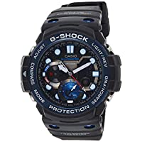 Casio Casual Watch Analog-Digital Display Quartz For Men Gn-1000B-1A, Black Band