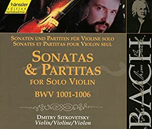 Edition Bachakademie Vol. 119 (Sonaten und Partiten für Violine solo)
