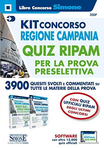Kit concorso Regione Campania. Quiz RIPAM per