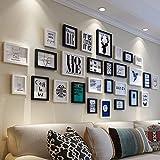 FuweiEncore Fotowand Kreatives Wohnzimmer Wand Bilderrahmen Wand Kombination Einfache Moderne Foto Wand Bilderrahmen (Farbe: A) (Farbe : B, Größe : -)