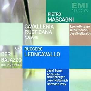Mascagni: Cavalleria rusticana (Auszüge)