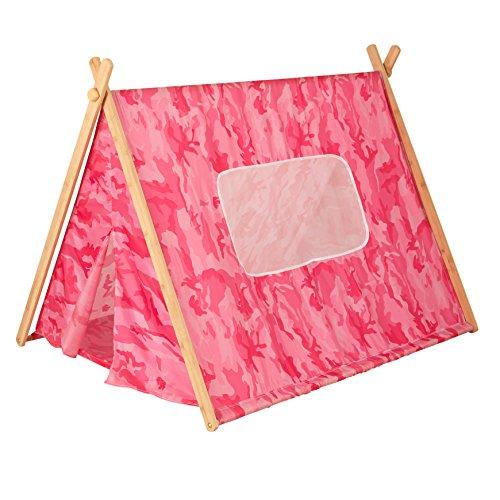 KidKraft Tenda Mimetica con Telaio, Colore Rosa