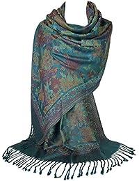 Amazon.fr   Multicolore - Pashminas   Echarpes et foulards   Vêtements eac6fdb0ca9