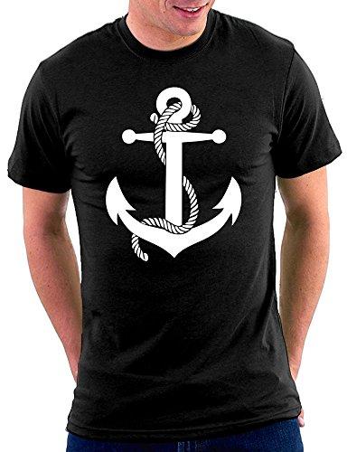 Anchor Anker T-shirt Schwarz