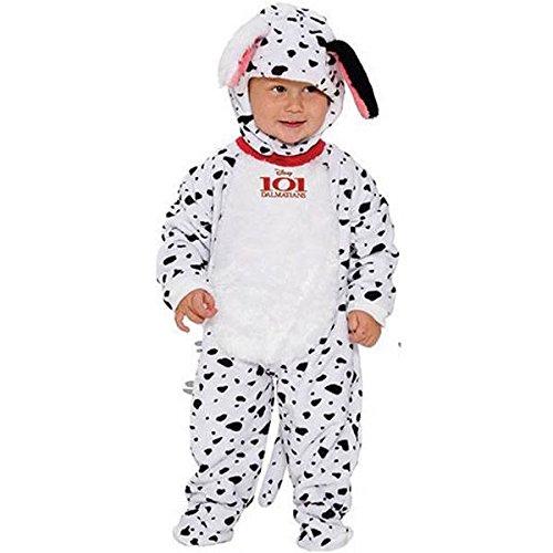 Nettes kleines Schätzchen-Flecken 101 Dalmatiner-Kostüm (3 Monate -18 bis 24 (101 Kinder Kostüme Dalmation)
