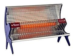 Warmex Flashy RH01 1000-Watt Room Heater (Blue)