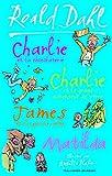 Image de Charlie et la chocolaterie - Charlie et le grand ascenseur de verre - James et la grosse pêche - Matilda