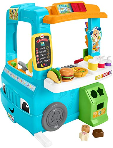Fisher-Price Camión de Comida de Juguete Laugh and Learn DYM74