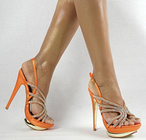 Shayenne , Chaussons montants femme Orange