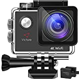 Victure Action Kamera 4K WIFI Unterwasserkamera Sport Cam 16MP Ultra HD...