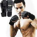 Swiftt Herren Profi Handschuhe Boxhandschuhe Sporthandschuhe Trainingshandschuhe für Boxen, Training, Sandsack, Boxsack, Freefight, Grapling, Kampfsport