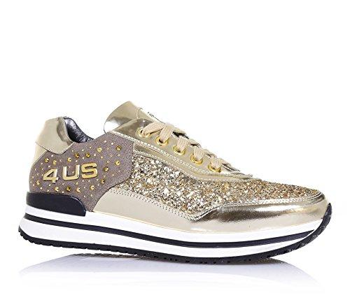 4us-cesare-paciotti-zapato-dorado-de-cordones-de-charol-y-glitter-con-el-logo-de-metal-en-la-lenguet