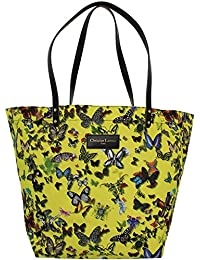 Sac Shopping Christian Lacroix Eden 1 Papillon Jaune