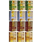 GiSè - Shirataki - Konjac - Paquete mixto: incluye 3 shirataki espagueti, 3 shirataki fideos, 3 shirataki arroz, 3 shirataki espagueti con fibra di soja, 300 gr. cada (Pacco da 12)