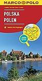 MARCO POLO Länderkarte Polen 1:800 000: Wegenkaart 1:800 000 (MARCO POLO Länderkarten)