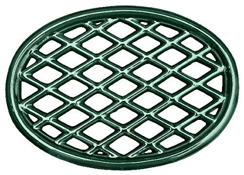 Grün Majolika Gitter Untersetzer - Porzellan Gusseisen Gitter