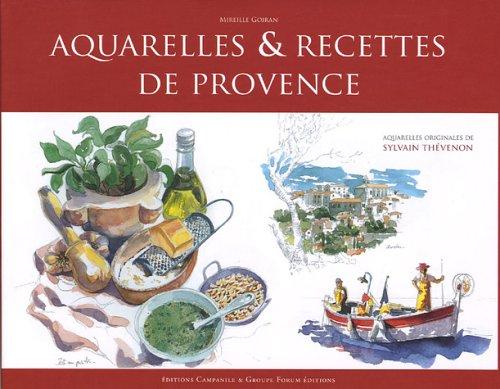 Aquarelles et cuisine de Provence