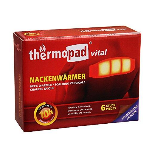 Thermopad Nackenwärmer, 6-er Pack,10 Stunden Wärmedauer