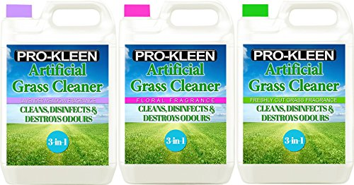 Pro-Kleen Artificial Grass Cleaner - Perfect for Homes with Dogs - Super Concentrate - (Triple Pack: Lavender, Floral… 1