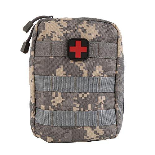 Zdmathe Molle Taktische Erste Hilfe Kit Tasche First Aid Pouch Set Tactical Medizinische Notfalltasche für Outdoor Camping Sport Reisen -