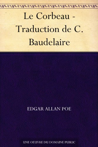 Couverture du livre Le Corbeau - Traduction de C. Baudelaire