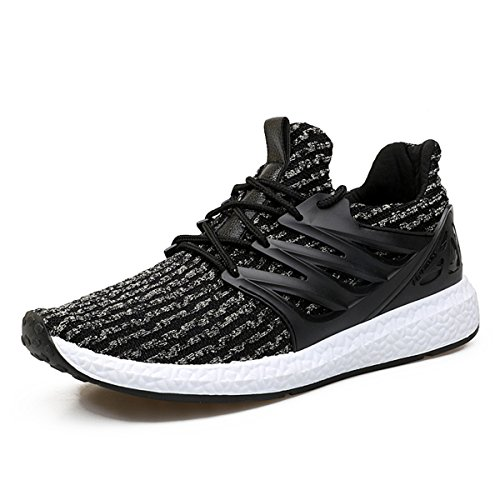 Baskets Mode Homme Femme, Gracosy Sports Léger Sneakers Basses Chaussures de course Running Ville Training Tennis - Multicolore - Taille 42 EU