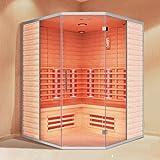 """Infrarotkabine """"La Gomera"""" Infrarot Sauna für bis zu 5 Personen"""
