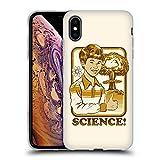 Head Case Designs Officiel Steven Rhodes Science Humour Coque en Gel Doux Compatible avec iPhone XS Max