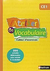 L'Atelier de Vocabulaire CE1
