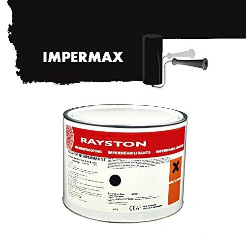 Impermax ST - flüssige Teichfolie - schwarz 2.5kg