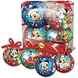 4 Boules de Noël Mickey 7,5 cm