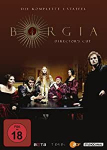 Borgia - Die komplette 1. Staffel (Director's Cut) [7 DVDs]