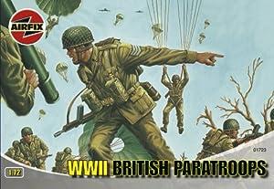 Airfix - British Paratroops, Set de Figuras (Hornby A01723)
