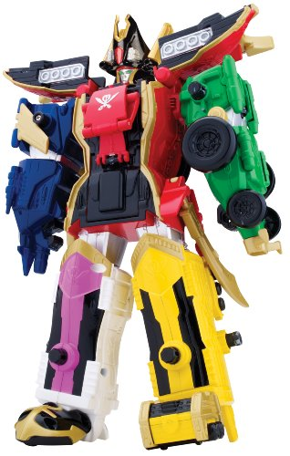 Bandai 38095 - Super Megaforce - Legendary Megazord (Ranger-schlüssel Super Megaforce)