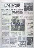Telecharger Livres AURORE L No 9481 du 25 02 1975 OTTO SKORZENY CRAVACHE A SA SORTIE DE LA TELE GISCARD PARLE DE L EMPLOI REUNION A VIENNE LES PAYS PETROLIERS S INQUIETENT DE LA BAISSE DE LEURS REVENUS PORTAL LA GRANDE EXPLICATION COMMENCE LE ROI DU NEPAL COURONNE A KATMANDOU LA MORT DES 4 JEUNES DU 13EME ET LA DROGUE PUTSH AVORTE A ATHENES MARTHE KELLER DANS L AIGLE DEUX TETES (PDF,EPUB,MOBI) gratuits en Francaise