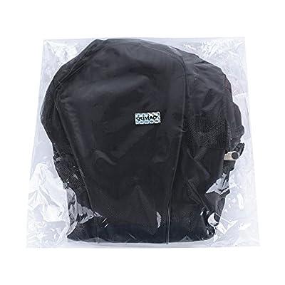 QUMAO Wasserdicht Scooter Tasche 6,5 Zoll (mit Eine Mesh-Tasche für Ladegerät) Tragetasche Handtasche Transporttasche E-Balance Scooter Schutztasche Selbstausgleich Roller Tasche (Schwarz)