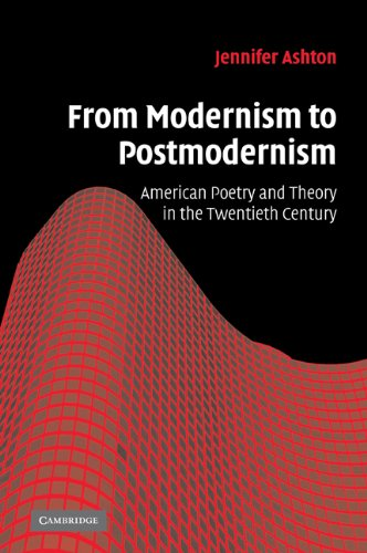 from-modernism-to-postmodernism-american-poetry-and-theory-in-the-twentieth-century-cambridge-studie