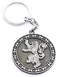 Techpro Metal Keychain With Game Of Thrones Hear Me Roar Lannister Design