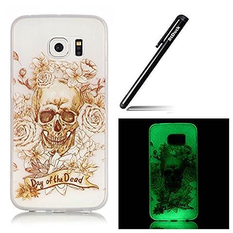 Btduck Coque De Protection Housse Étui Pour Samsung Galaxy S6 Edge Plus Flip Case Cover Lumineux D