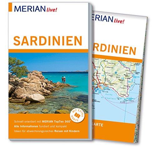 Preisvergleich Produktbild MERIAN live! Reiseführer Sardinien: Mit Extra-Karte zum Herausnehmen
