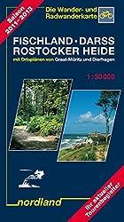 Nordland Karten, Fischland, Darss, Rostocker Heide (Deutsche Ostseeküste)