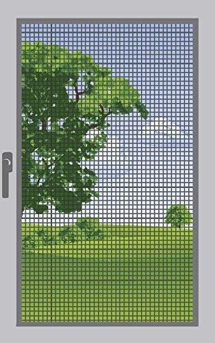 120 x 250 cm mosquitera 03462 Antracita Tejido de protecci/ón contra Insectos de Fibra de Vidrio Windhager