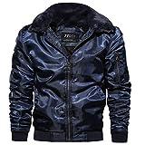2018 KPPONG Männer Winter Einfarbig Mode Warm Lose Zubehör Flug Anzug Baumwolle Kleidung Mantel Wintermantel Große Größe Mantel Jacke
