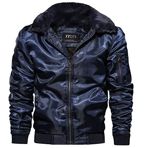 (Männer Baumwolle Wintermantel, JiaMeng lose Flug Anzug großen Mantel Verdickung Mantel Jacken, Weihnachten Kostüme)