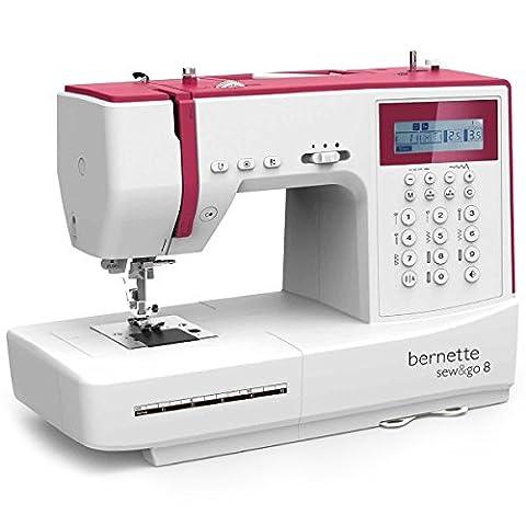 Bernette Sew&GO 8 Machine á Coudre Électronique - 197 Points - Quilt & Patchwork